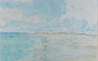 Tief durchatmen, 190 x 190 cm, Öl auf Leinwand