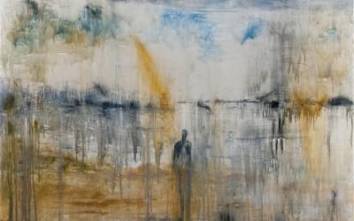 Das Meer ist ein Spiegel, 150 x 110 cm, Öl auf Leinwand