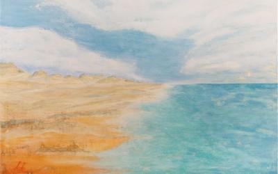 Laufenlassen, 140 x 100 cm, Öl auf Leinwand