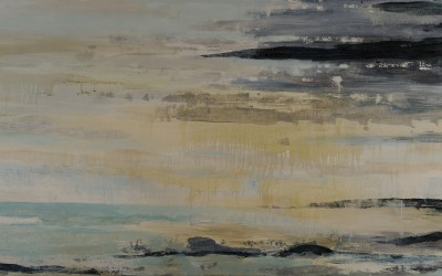 Meerweiten, 280 x 120 cm, Öl auf Leinwand