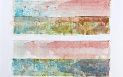 Ohne Titel 11/I und 11/II, 84,10 x 59,40 cm, Mischtechnik auf Papier