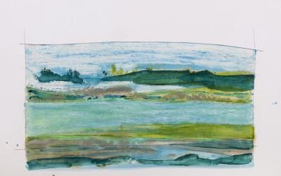 Ohne Titel 13, 84,10 x 59,40 cm, Mischtechnik auf Papier