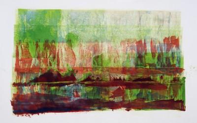 Ohne Titel 4, 84,10 x 59,40 cm, Mischtechnik auf Papier
