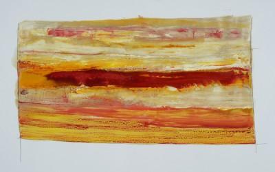Ohne Titel 6, 84,10 x 59,40 cm, Mischtechnik auf Papier