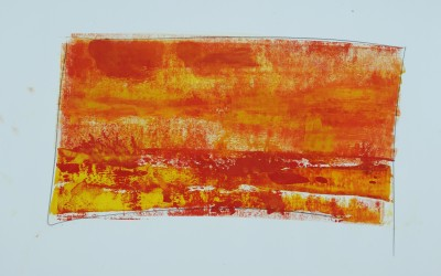 Ohne Titel 7, 84,10 x 59,40 cm, Mischtechnik auf Papier