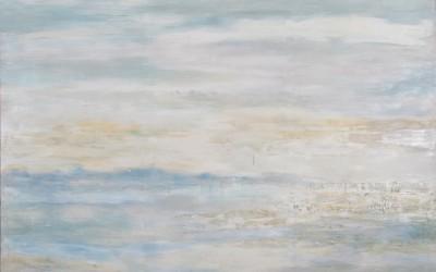 Schneemeer, 200 x 160 cm, Öl auf Leinwand