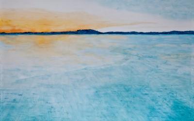 Eiskönigin, 200 x 160 cm, Öl auf Leinwand