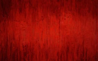 Der Weg war rot, 200 x 160 cm, Öl und Pigment auf Holz