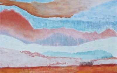 Secound Sight, 140 x 100 cm, Öl auf Holz